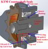 KTM 4-Stroke Dome Front Sprocket Washer