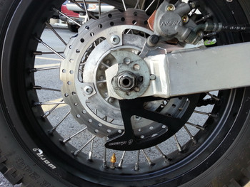 DR650 Rear Disk Guard- Warp 9