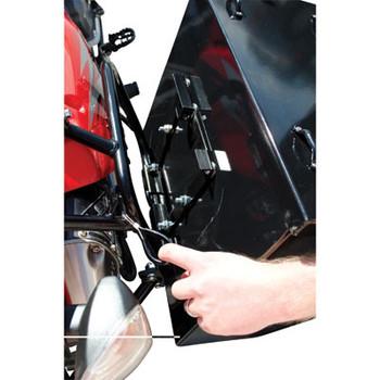 Tusk Aluminum Panniers  w/Pannier Racks Large Black,Suzuki DR650 96-2015