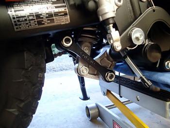 Eagle Mfg. Kawasaki KLR650 Rear Shock Lowering Links-2008-2018-Dual Sport