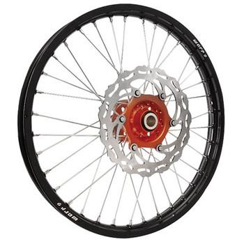 "KTM,Motocross,Combo Wheel set Combo,21/19"",WARP9 Racing, Black/Orange Hub"