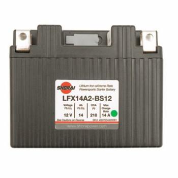 Shorai Lithium-Iron Battery LFX14L2-BS12 Fits: HONDA CRF250L