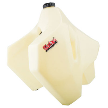 Safari Fuel Tanks - Fuel Tank (NO CA) 7.4 Gallon Translucent White–Fits: Suzuki DR-Z 400S 2000–2019