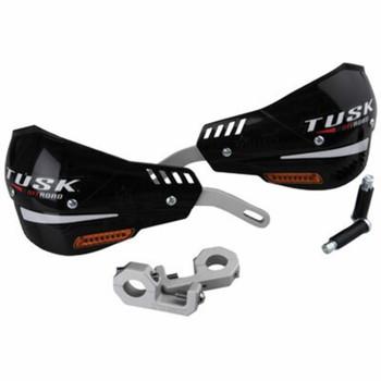 Tusk D-Flex Pro Handguards w/Turn Signals Black