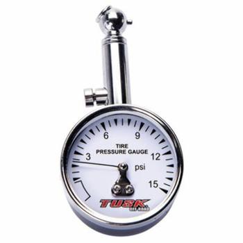Low Pressure Dial Tire Gauge-Tusk
