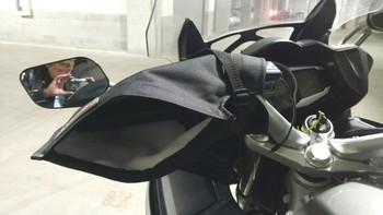 Tusk Motorcycle/ATV Hand Mitts Black