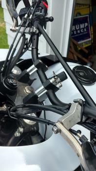 "Handlebar Risers 7/8"" Bars, 30mm Height-Tusk"