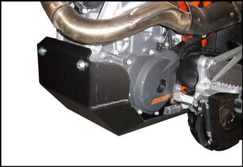 Ricochet Skid Plate KTM 690 Enduro 2008-2018-Black