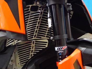 New! Flatland-RADIATOR GUARD FOR 2019 KTM 790 ADVENTURE & ADVENTURE R