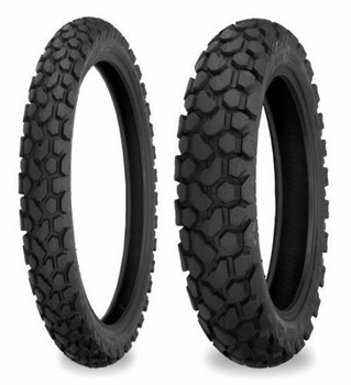 Shinko 700 series Tire Combo:3.00-21 & 5.10-17-Dual Sport, DOT