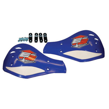 Enduro Engineering Replacement Plastic Debris Deflectors Blue