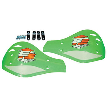 Enduro Engineering Replacement Plastic Debris Deflectors Green