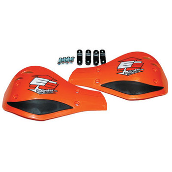 Enduro Engineering Replacement Plastic Debris Deflectors Orange