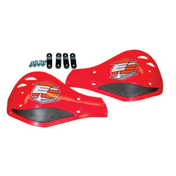 Enduro Engineering Replacement Plastic Debris Deflectors Red