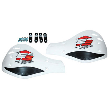 Enduro Engineering Replacement Plastic Debris Deflectors White