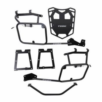 Tusk Pannier Racks with Top Rack Fits: 2019-2020 HONDA CRF250L