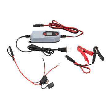 Tusk Lithium Battery Float Charger with LCD Screen