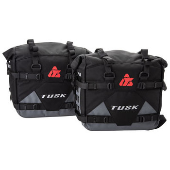 Tusk Pilot Pannier Bags-Motorcycle-Luggage