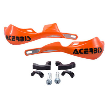 Acerbis Rally Pro X-Strong Motorcycle Handguards-KTM Orange