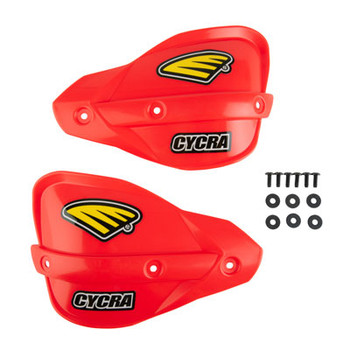 Cycra Classic Enduro Replacement Handshields Red