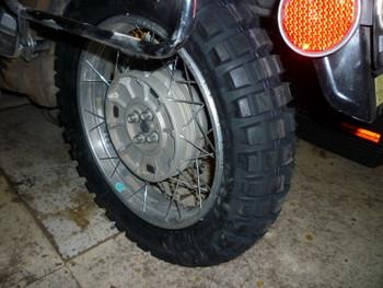 Continental Twinduro TKC80 Dual Sport Rear Motorcycle Tire 130/80-17 Tubeless