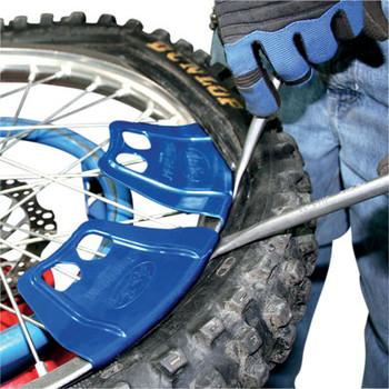 Motion Pro RimShield II Motorcycle Rim Protectors # 08-0546-Blue