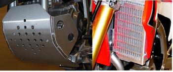 Flatland Racing 2013-2020 CRF250L skid plate/radiator Guard Combo