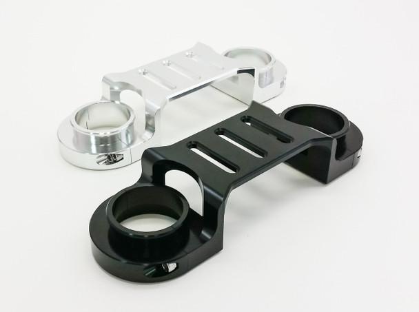 DR650 Front Fork Brace Blk- Warp 9-new design