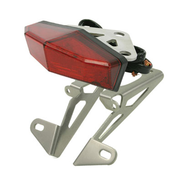 DRC Moto LED Edge 2 Aluminum Tail Light Holder-Yamaha WR250R/X 08-15