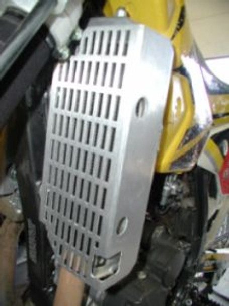 DRZ400S Aluminum Radiator Guard All years KLX 400-Flatland