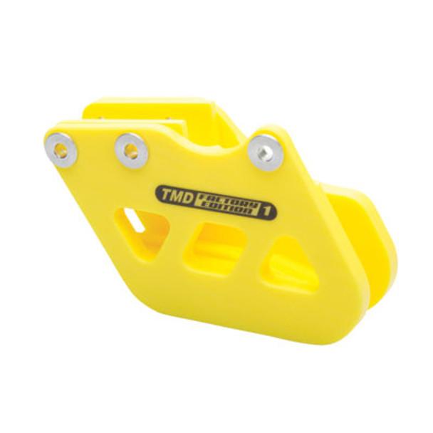 T.M. Designworks Factory Edition 1 Rear Chain Guide Suzuki Yellow – Fits: Suzuki RM/RMZ/DR-Z 125/250/400/450/ 2000–2016