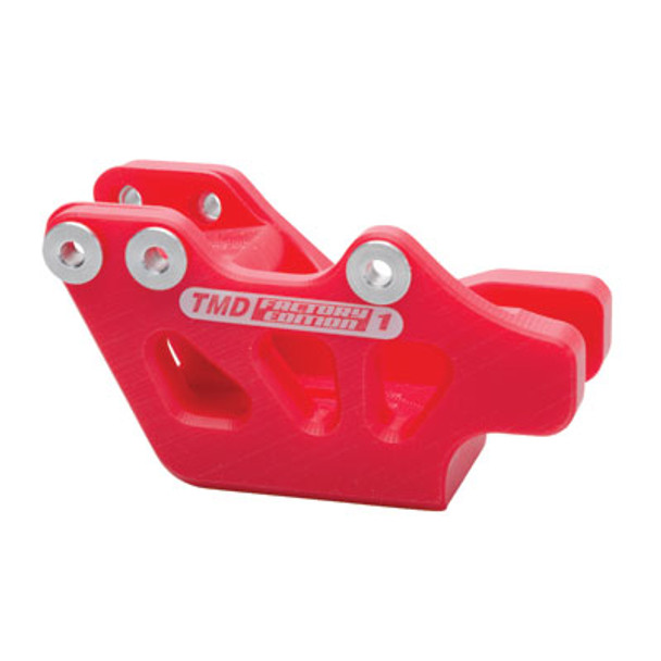T.M. Designworks Factory Edition 1 Rear Chain Guide Red-Fits Honda CR/CRF/CRFX, 125/250/450