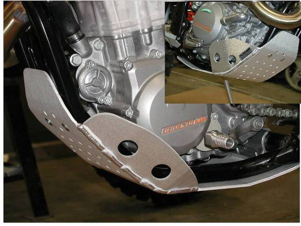 SKID PLATE FOR 2012-16 KTM 450/500 EXC, XCF-W, XCF, 2013 450SFX, & 13-16 HUSABERG FE 501