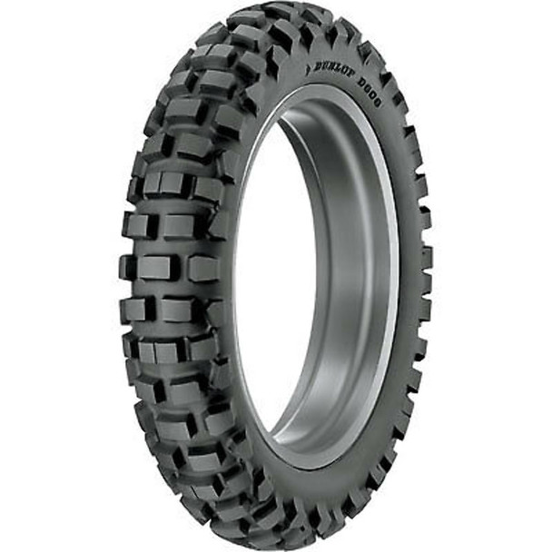 Dunlop D606 Dual Sport DOT tires,Full Knobby