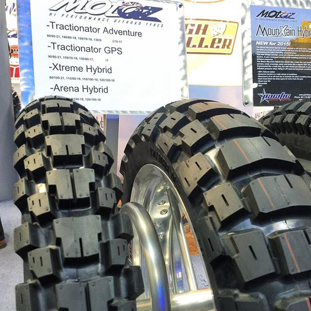MotoZ TRACTIONATOR ADVENTURE tire 150/70-17-rear