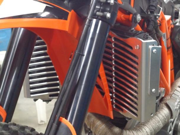 Warp 9 Kickstand SuperMoto Black for Husqvarna FE 450 2016