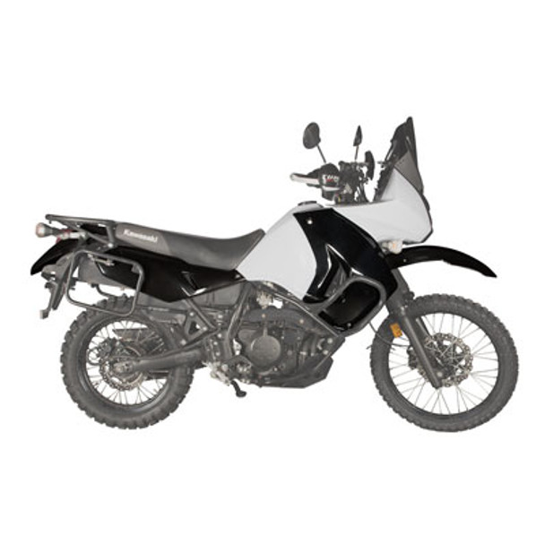 Kawasaki KLR650 2008–2018 Polisport Complete Replica Plastic Kit-Black