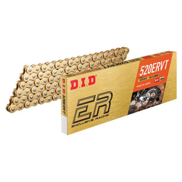 DID 520 ERVT Gold X-Ring Chain 520x120