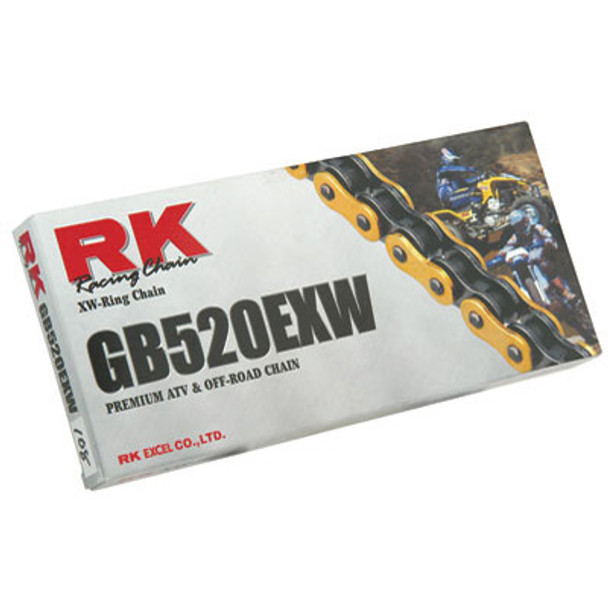 RK 520EXW Gold XW-RING Chain 520x120