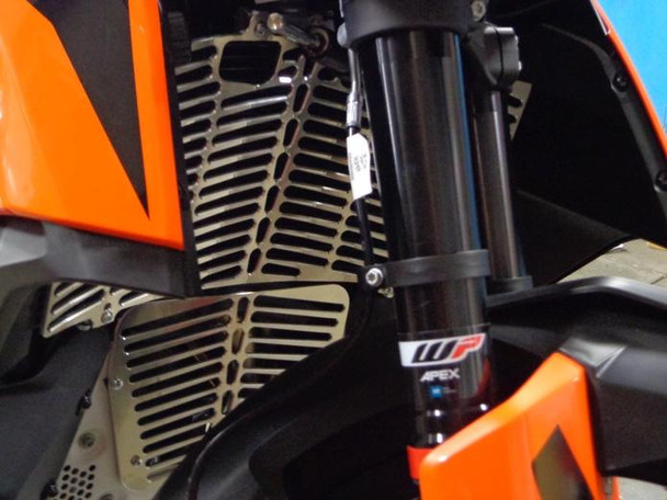 New! Flatland-RADIATOR GUARD FOR 2019 KTM 790 ADVENTURE & ADVENTURE R
