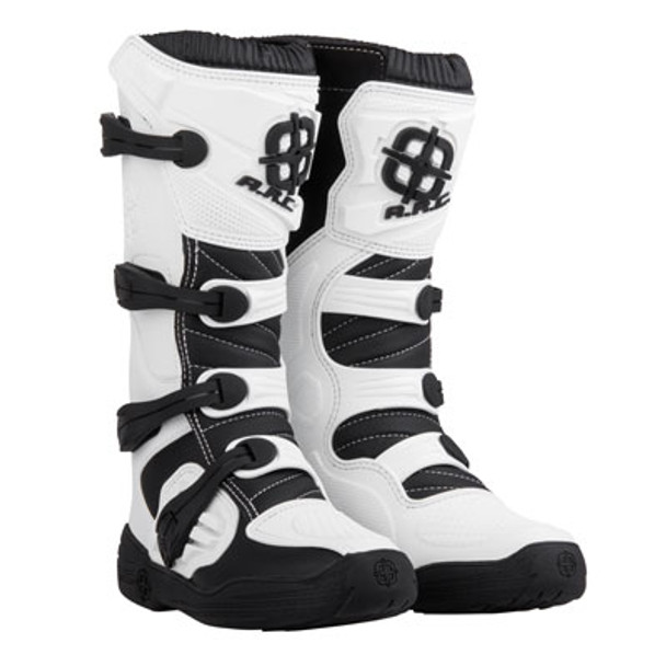 A.R.C. Adult Motocross Boots Size 13 White