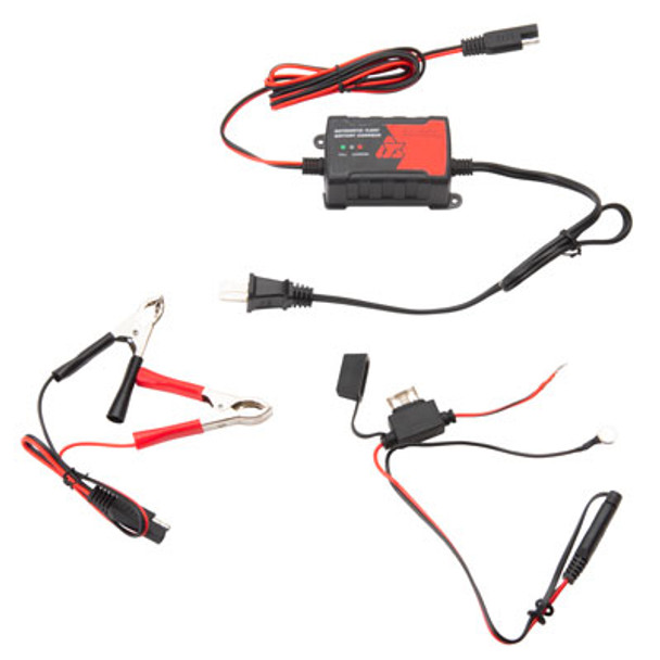 Tusk Automatic Float Battery 1 AMP Trickle Charger-Motorcycle/ATV/UTV/Boat