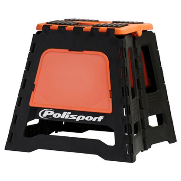 Polisport Folding Dirt Bike Stand Orange/Black-KTM-Motocross