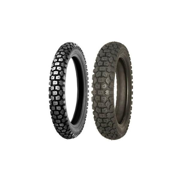 Shinko 244 Dual Sport Tire Combo:3.00-21 & 5.10-18 DOT