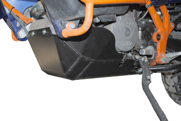 Ricochet KTM 990 Adventure Skid Plate-Black 2006-2014 990 Adventure