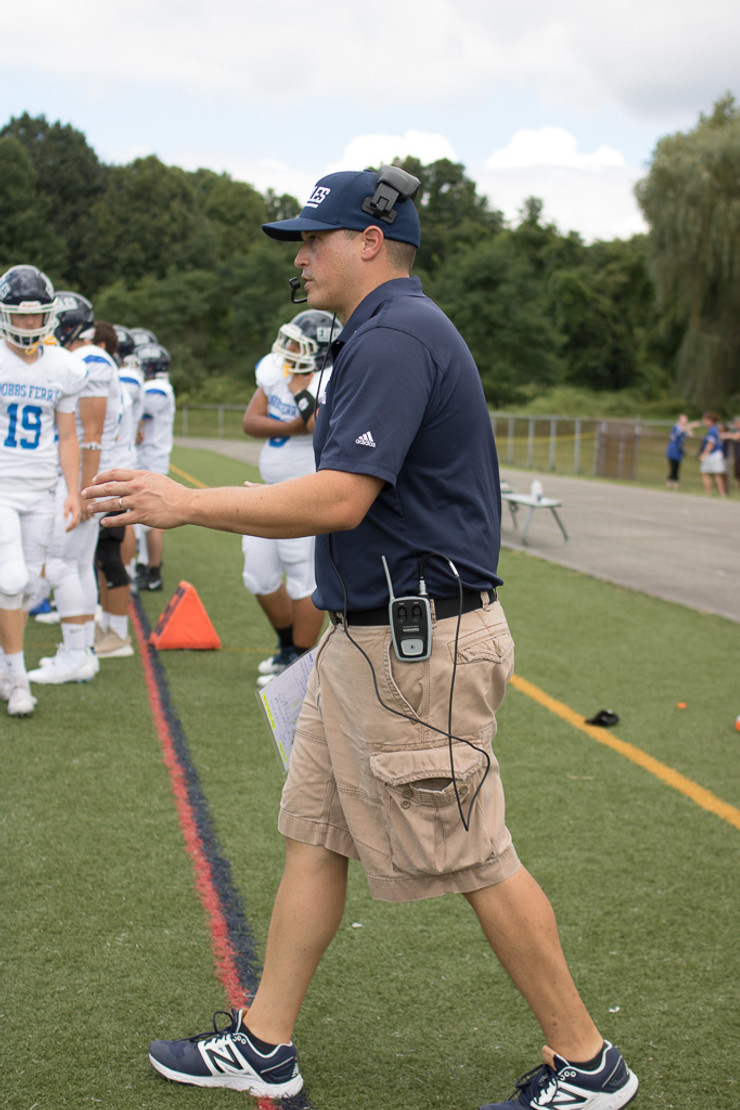 Sideline Chat with Head Coach Joseph Cox, Dobbs Ferry High School