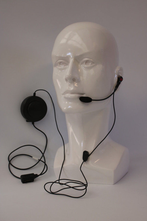 MAC REFEREE PUSH-TO-TALK HEADSET
