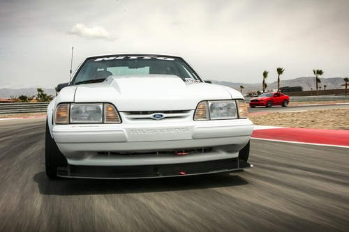 Fox Body LX Front Splitter -Race W/Forward Arms