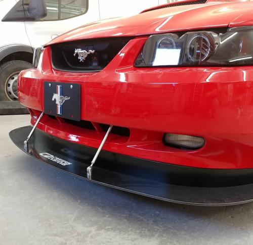 04 Mustang Gt >> 99 04 Gt Mach V6 Front Splitter Race Version