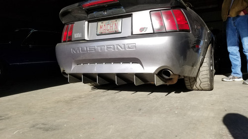 2004 mustang side exhaust